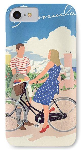 Poster Advertising Bermuda IPhone Case
