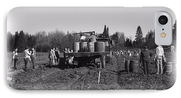 Potato Harvest 3 IPhone Case