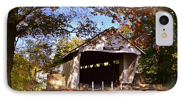 Potter's Bridge In Fall IPhone Case