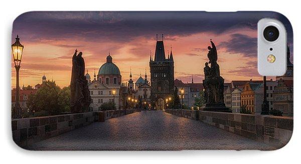 Castle iPhone 8 Case - Prague-ii by Juan Manuel Fernandez