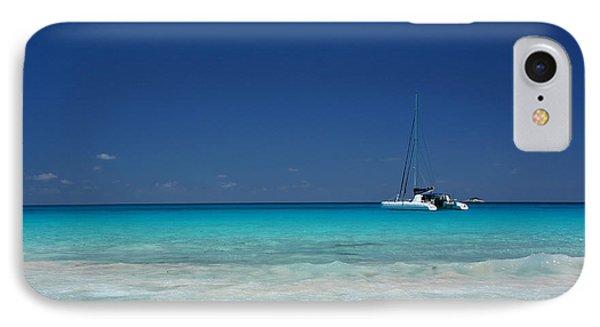 Praslin Island Catamaran IPhone Case