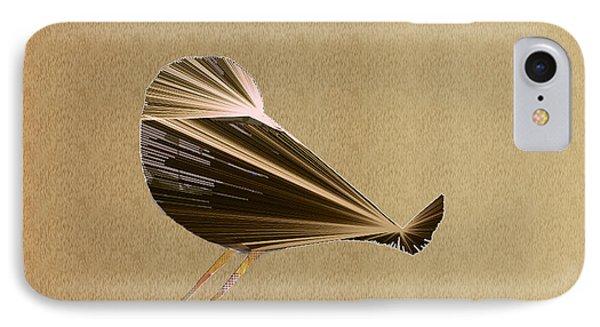 Preening Bird IPhone Case