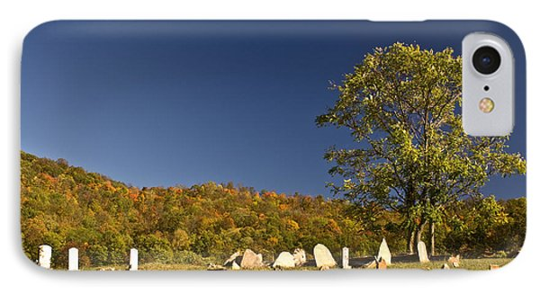 Premitive Cemetary Near Monterey Tennessee IPhone Case