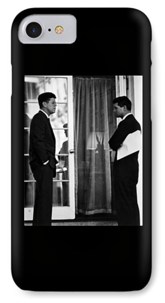 President John Kennedy And Robert Kennedy IPhone Case
