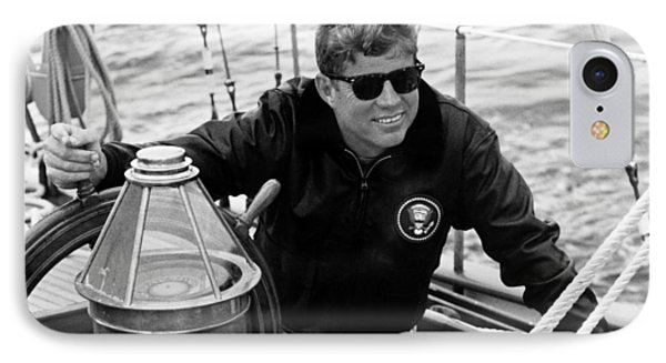 President John Kennedy Sailing IPhone Case