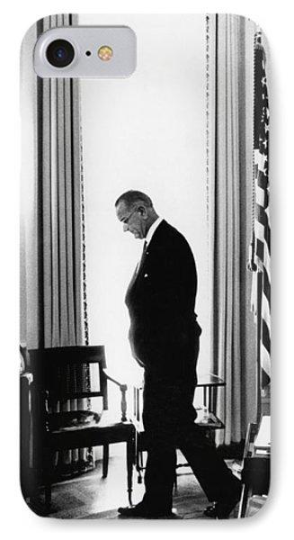 President Lyndon Johnson Paces IPhone Case