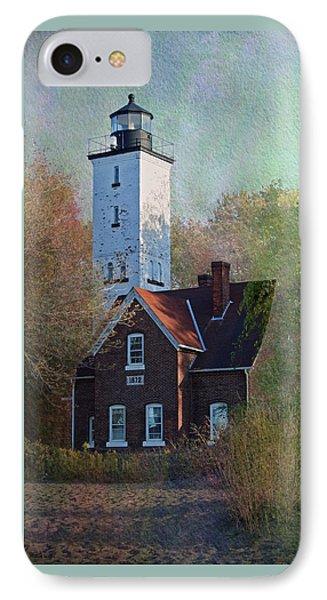 Presque Isle Lighthouse IPhone Case