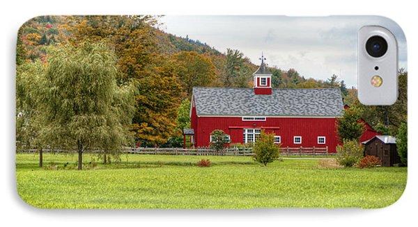 Prettiest Barn In Vermont IPhone Case