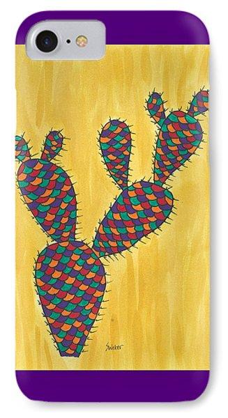 Prickly Pear Cactus Paradise IPhone Case