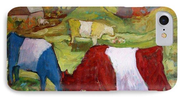 Primary Cows IPhone Case