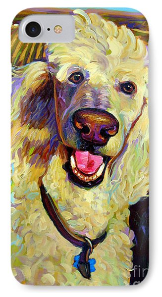 Princely Poodle IPhone Case