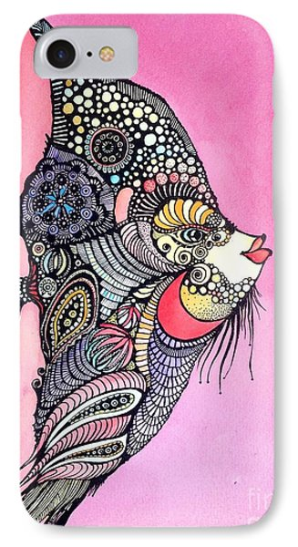 Priscilla The Fish IPhone Case