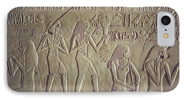 Private Tomb Of Kheruef Kheruf Cheriuf Tt 192 Asasif-stock Image-fine Art Print-valley Of The Kings IPhone Case