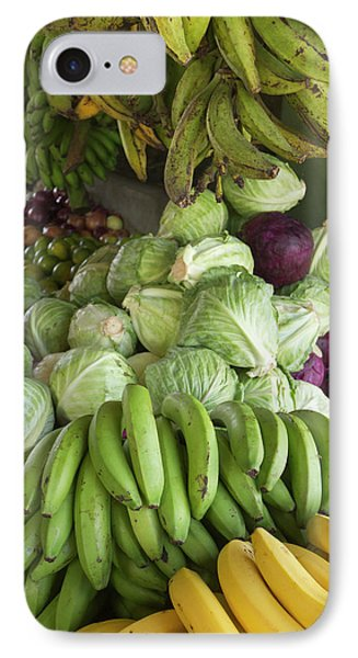 Belize iPhone 8 Case - Produce Stall At The Saturday Market by William Sutton