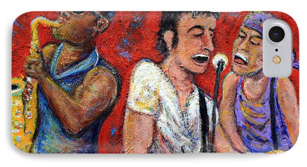 Musicians iPhone 8 Case - Prove It All Night Bruce Springsteen And The E Street Band by Jason Gluskin