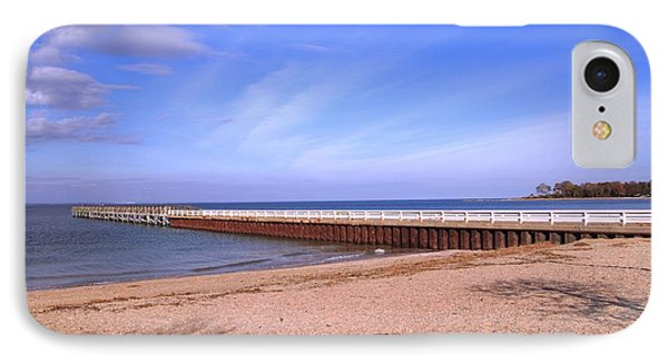 Prybil Beach Pier IPhone Case