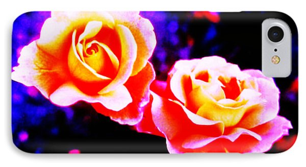 Psychedelic Roses IPhone Case