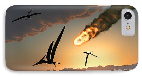 Pteranodons In Flight, Unaware IPhone Case
