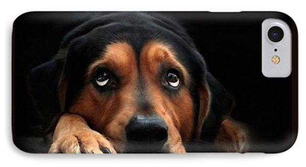 Puppy Dog Eyes IPhone Case