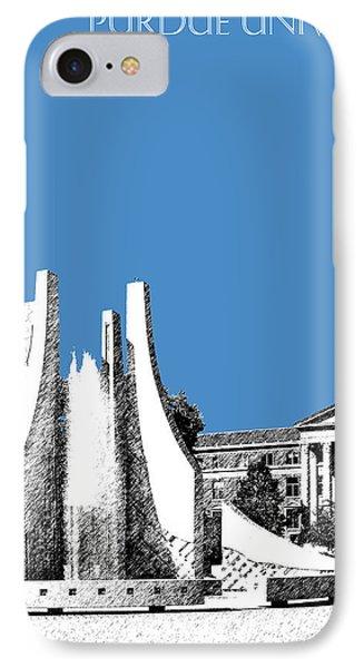 Purdue University 2 - Engineering Fountain - Slate IPhone Case