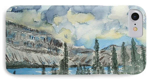 Pure North - Bow Lake Alberta IPhone Case