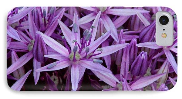 Purple Allium IPhone Case
