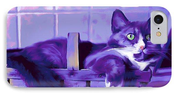 Purple Basket Case IPhone Case