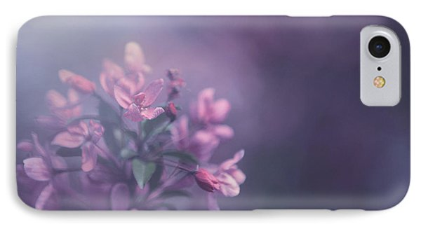 Flowers iPhone 8 Case - Purple by Carrie Ann Grippo-Pike