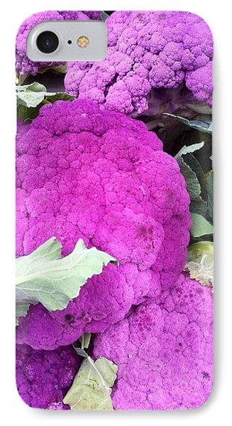 Purple Cauliflower IPhone Case
