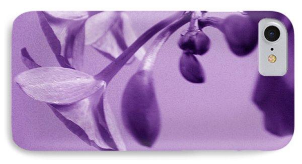 Purple Charm IPhone Case