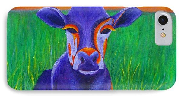 Purple Cow IPhone Case