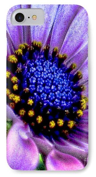 Purple Flower Sensation IPhone Case