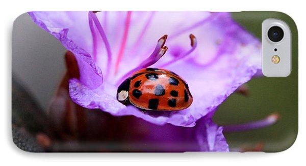 Purple Lady IPhone Case