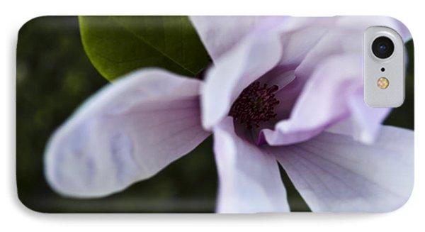 Purple Lily Magnolia Bloom IPhone Case