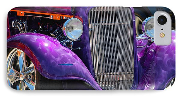 Purple Street Rod IPhone Case