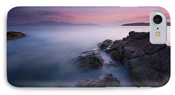 Purple Sunset With Arran Views IPhone Case