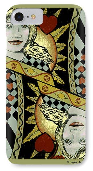 Queen's Card II IPhone Case