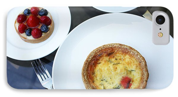 Quiche And Tart IPhone Case