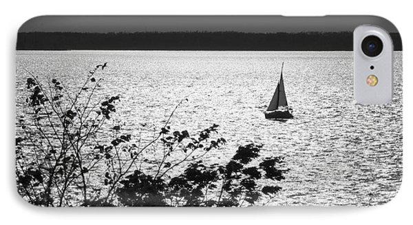Quick Silver - Sailboat On Lake Barkley IPhone Case