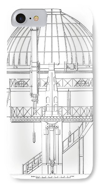 Radcliffe Observatory Telescope IPhone Case