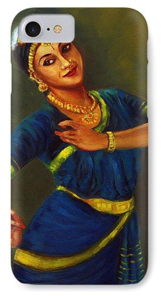Radha Playing Krishna IPhone Case