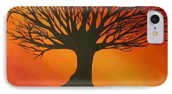 Radiant Tree IPhone Case