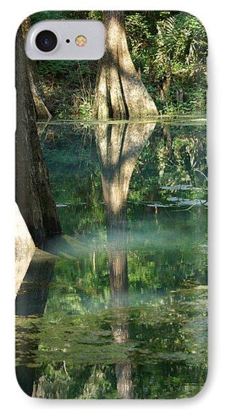 Radium Springs Creek In The Summertime IPhone Case
