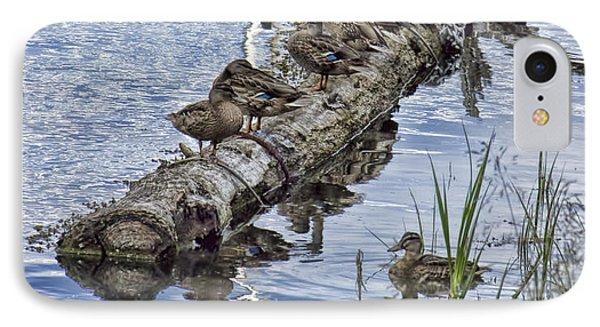 Raft Of Ducks IPhone Case