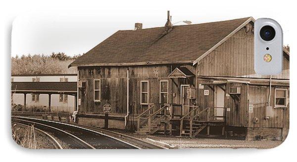 Railway Building Wilmington Ma IPhone Case