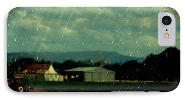 Rain Over Grantham IPhone Case