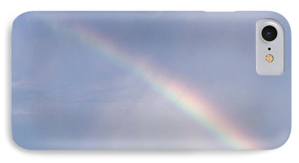 Rainbow And Oil Pump IPhone Case