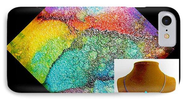 Rainbow Sky Necklace IPhone Case