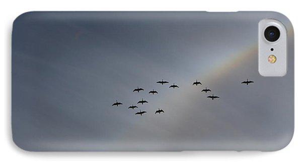 Rainbow Squadron IPhone Case