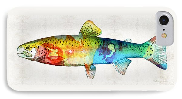 Rainbow Trout Art By Sharon Cummings IPhone Case